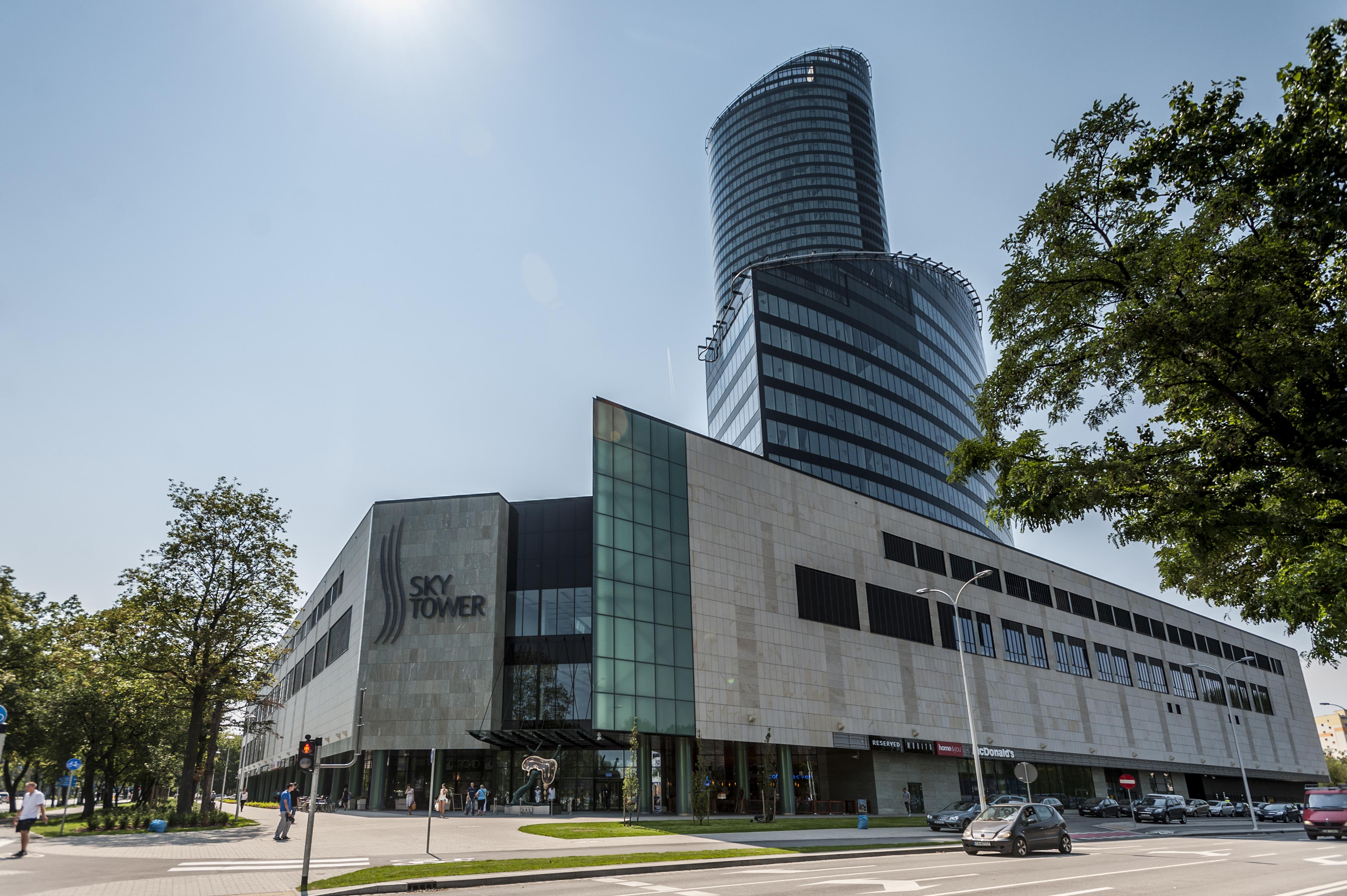 Sky Tower – wrocławski drapacz chmur