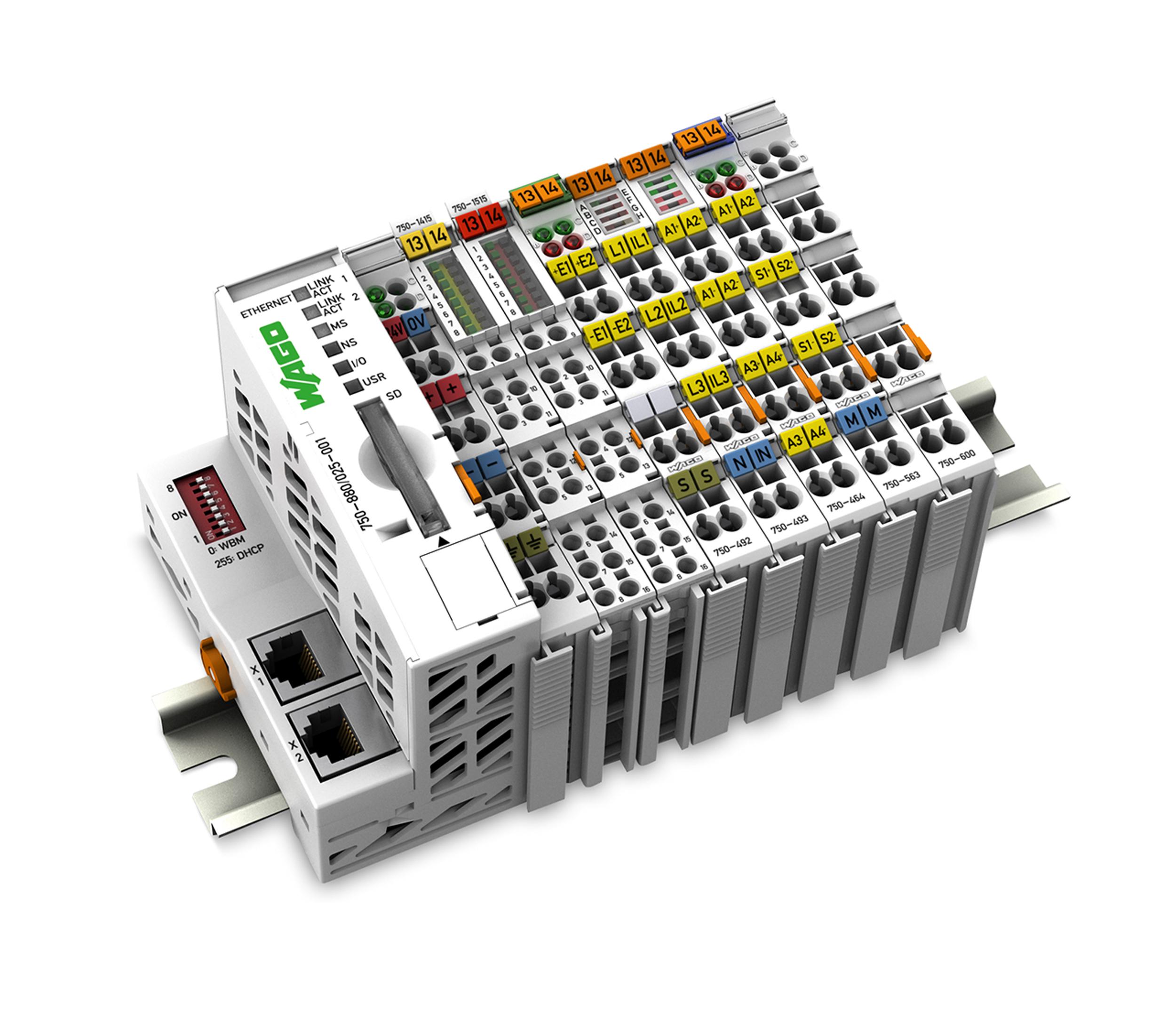 Nadawanie adresu IP i połączenie ze sterownikiem WAGO