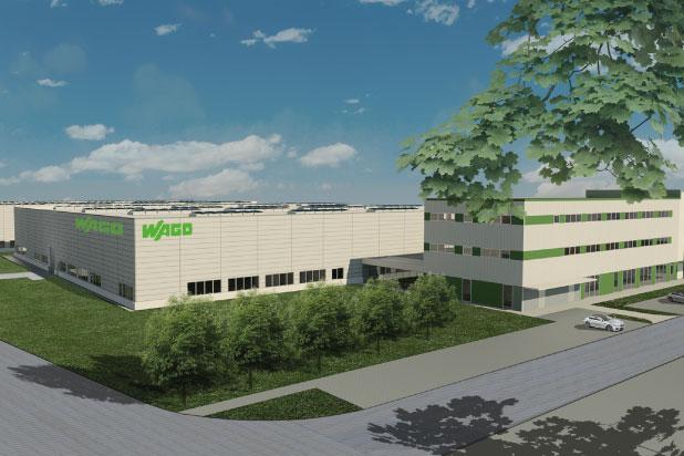 Firma WAGO wciąż się rozwija – ruszyła budowa nowej fabryki