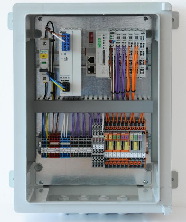 Układ WAGO do zarządzania i monitorowania mikroźródeł OZE