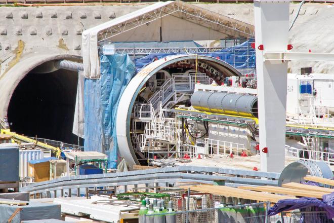 WAGO-I/O-SYSTEM drąży tunele