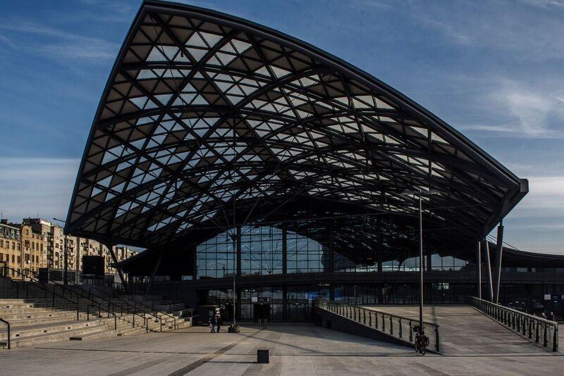 Najnowocześniejszy dworzec w Polsce – Łódź Fabryczna