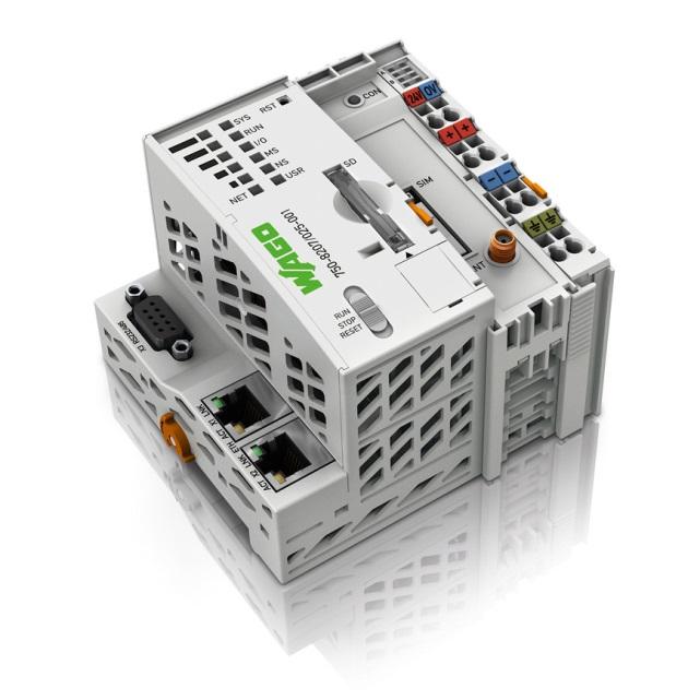 Rys. 2. Sterownik PFC200 zintegrowany z modemem GPRS