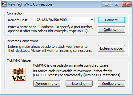 Tight VNC Viewer