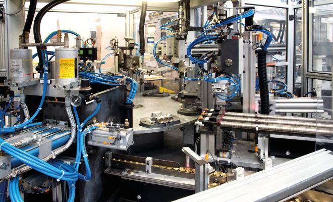 Wskaźnik produktywności w fabryce 4.0