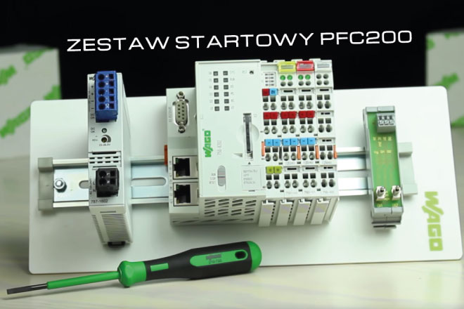 Unboxing zestawu startowego PLC WAGO PFC200