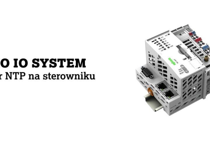 Serwer NTP na sterowniku WAGO IO System